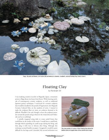 Floating Clay - Ceramic Arts Daily