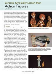 Action Figures - Ceramic Arts Daily