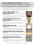 mold making - Ceramic Arts Daily - Page 2