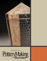 2013 Pottery Making Illustrated Media Kit - Ceramic Arts Daily