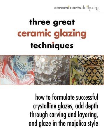 Techniques - Ceramic Arts Daily