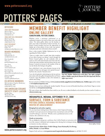 Volume8. Issue4 - Ceramic Arts Daily