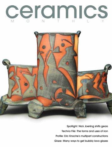 Spotlight: Nick Joerling shifts gears Techno File - Ceramic Arts Daily