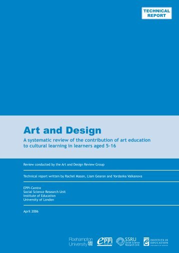 A+D2 - TECH.indd - EPPI-Centre - Institute of Education, University ...