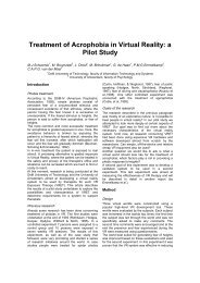 Treatment of Acrophobia in Virtual Reality: a Pilot ... - ResearchGate