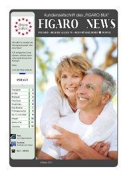 """� Kundenzeitschrift des """"FIGARO BILK"""""""