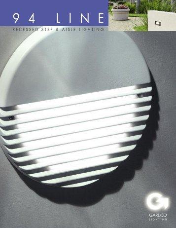 Gardco 94 LINE Step and Aisle Lights Brochure - Gardco Lighting