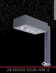 Low Pressure Sodium - Form 10 Brochure - SESCO Lighting