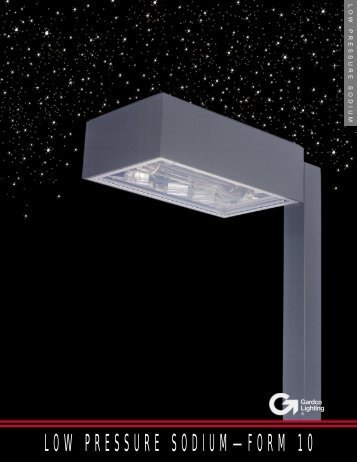 Low Pressure Sodium - Form 10 Brochure - SESCO Lighting
