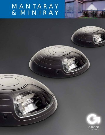 Gardco Mantaray and Miniray Brochure - Gardco Lighting