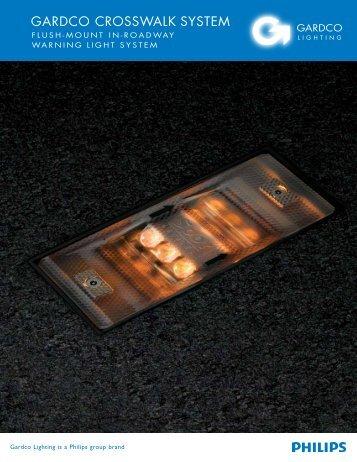 Gardco Crosswalk System Brochure - Gardco Lighting