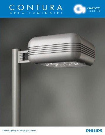 Gardco Contura Luminaire Brochure - Gardco Lighting