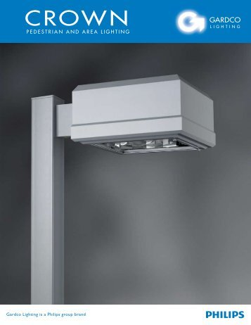 Gardco Crown Luminaire Brochure - Gardco Lighting