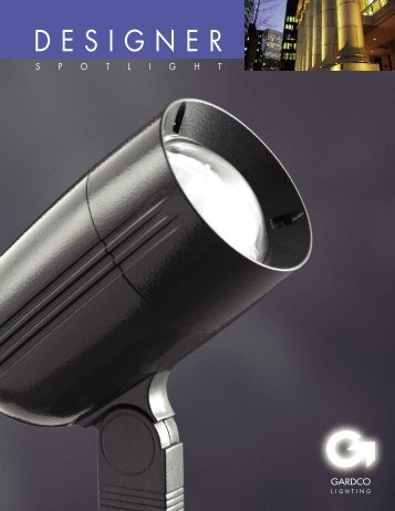 Gardco DSP Designer Spotlight Brochure - Gardco Lighting