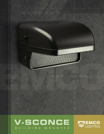 EMCO V-Sconce Brochure