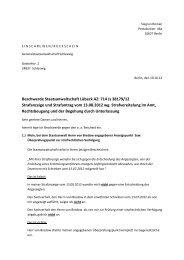 Beschwerde Staatsanwaltschaft Lübeck AZ: 714 Js 38179/12 ...
