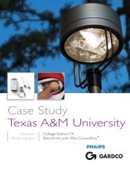 Case Study Texas A&M University - Gardco Lighting