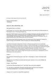 Frankfurt Dienstaufsichtsbeschwerde Wertpapier Schaden De