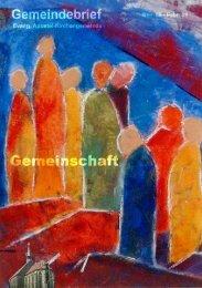 Gott sucht Gemeinschaft mit uns Menschen - aktuell