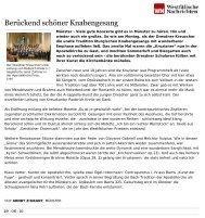 Konzert des Dresdner Kreuzchores