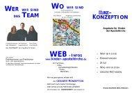 WO WIR SIND WEB -INFOS www.kinder-apostelkirche.de