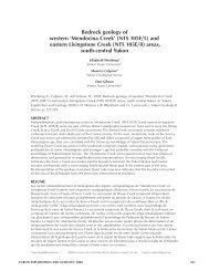 Bedrock geology of western 'Mendocina Creek' (ntS 105F/5) and ...