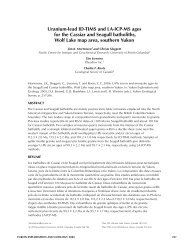 uranium-lead id-tiMS and la-iCp-MS ages for the Cassiar and ...