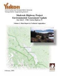 Shakwak Project Environmental Update - 1999