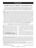 Tadalafil Therapy for Pulmonary Arterial Hypertension - Page 2