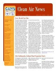 December 2011 Issue - Clean Air Initiative