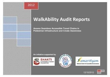 WalkAbility Audit Reports - Clean Air Initiative