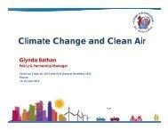 Climate Change and Clean Air - Clean Air Initiative