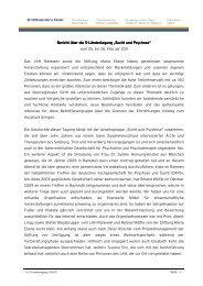 """Ländertagung """"Sucht und Psychose"""" - Stiftung Maria Ebene"""