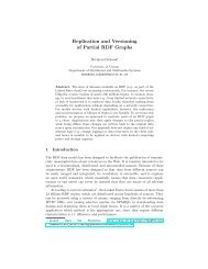 Replication and Versioning of Partial RDF Graphs - the Publication ...
