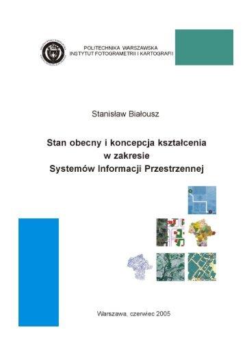Dane i informacja - Zakład Fotogrametrii, Teledetekcji i SIP ...