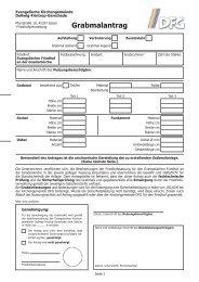 Formular Grabmalantrag - Essen-Dellwig-Frintrop-Gerschede