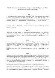 Pravilnik zaključnega tekmovanja za 2012 - Planet TUŠ Koper