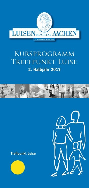 Kursheft 2. Halbjahr 2013 - Luisenhospital