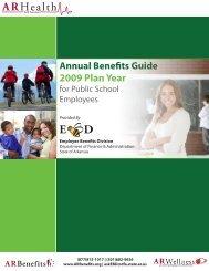 Annual Benefits Guide 2009 Plan Year - Mena Public Schools