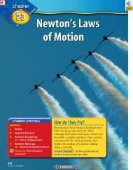 Chapter 23: Newton's Laws of Motion