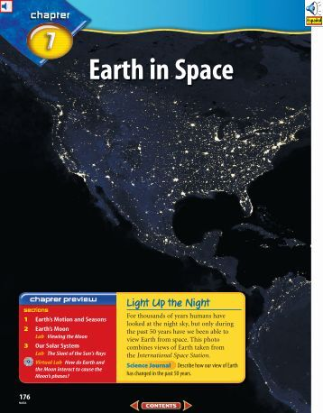 Chapter 7: Earth in Space