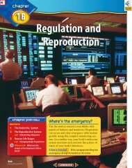 Chapter 16: Regulation and Reproduction