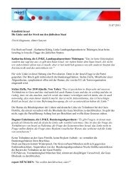 11.07.2011 Feindbild Israel Die Linke und der Streit um den ...