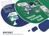 Telecom Packaging Guide PDF - Workz - PROFESSIONALS IN ...