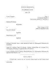 Katherine M. Rucker, Respondent, vs. Steven B. Schmidt, Appellant ...