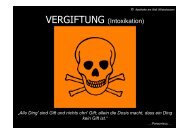 VERGIFTUNG (Intoxikation) - Apotheke am Wall