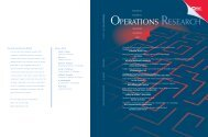 Front Matter (PDF) - Management Science - Institute for Operations ...