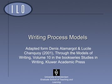 Models of Writing Processes