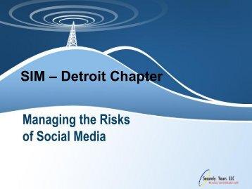 Risks of Social Media - Securelyyoursllc.com