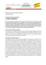 09_19_Medienmitteilung_Tatort Jungfrau - Jungfrau Region